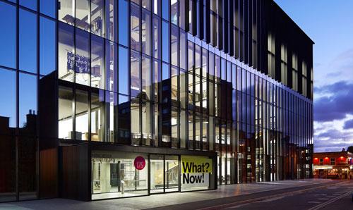 Exterior Of Benzie Building, MMU