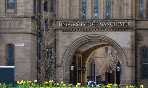 The University of Manchester arch